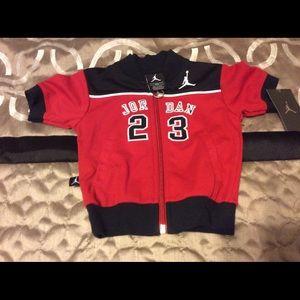 New~ nike kids Jordan 23 Sweat jacket 3-6 months